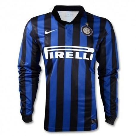 FC Inter Jersey Home 2011/12 jugador auténtica carrera tema L/s Jersey-Nike