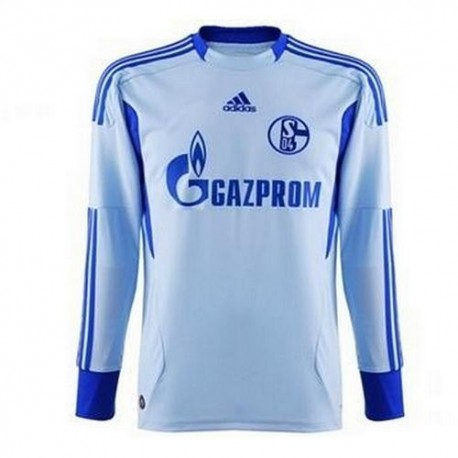Schalke 04 Goalkeeper Jersey Away 2011/12-Adidas