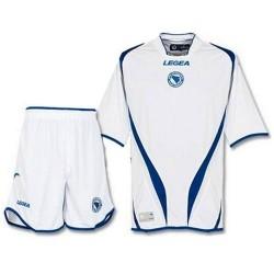 Completa (camisa y pantalón corto) Bosnia y Herzegovina nacional lejos 2012/13-Legea