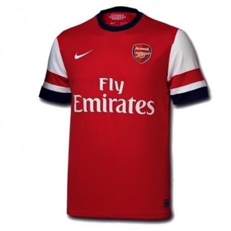 Arsenal FC Home camisa/14 2012 jugador tema Nike auténtica carrera-
