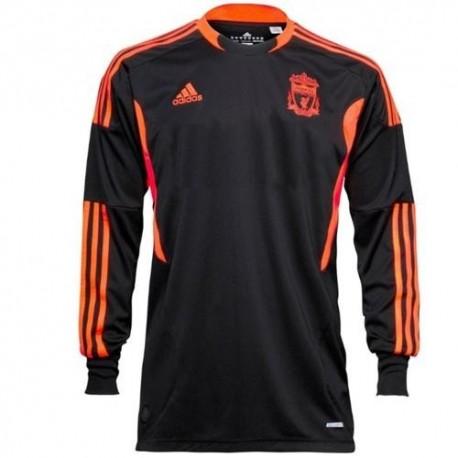 Liverpool Fc arquero Jersey Away 2011/12 jugador número carrera Adidas Techfit