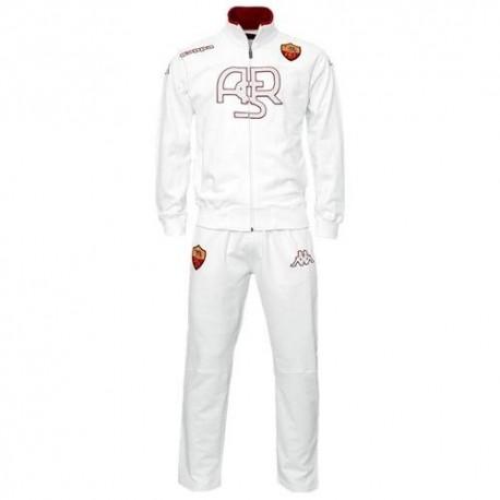 ALS Roma-Präsentation Anzug 2012 Kappa - weiß