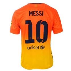 Lejos camiseta de fútbol FC Barcelona 2012/13 Messi 10 - Nike