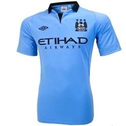 Camiseta de fútbol Manchester City Home Umbro 2012/13