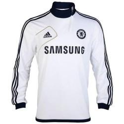 Técnico formación Hoodie Chelsea FC Adidas 2012/2013-blanco
