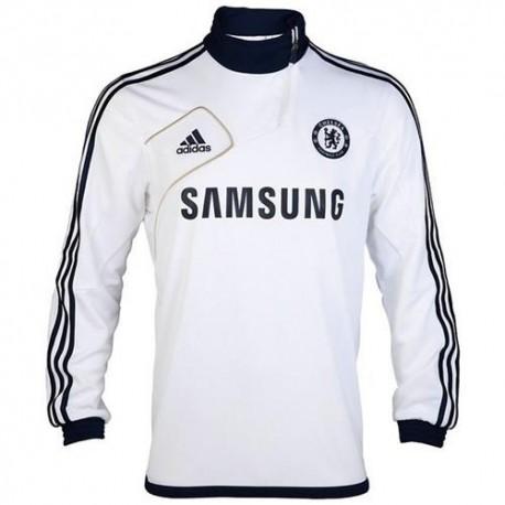 Felpa tecnica da allenamento Chelsea FC 2012/2013 Adidas - Bianco