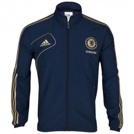 Representando a Chelsea FC chaqueta Adidas 2012/2013-azul
