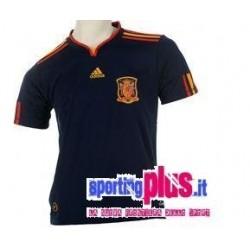 Jersey de fútbol nacional de España 2009/10 lejos por Adidas World Cup
