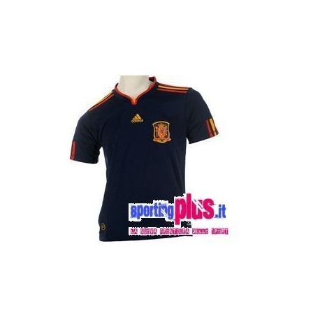 Maglia Nazionale Calcio Spagna Away 2009/10 by Adidas World Cup