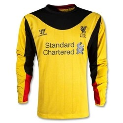 Liverpool FC Arquero Jersey lejos 2012/13 largas mangas-Guerrero
