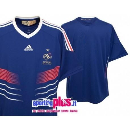 Fußball Trikot 09/11 Frankreich Home von Adidas World Cup