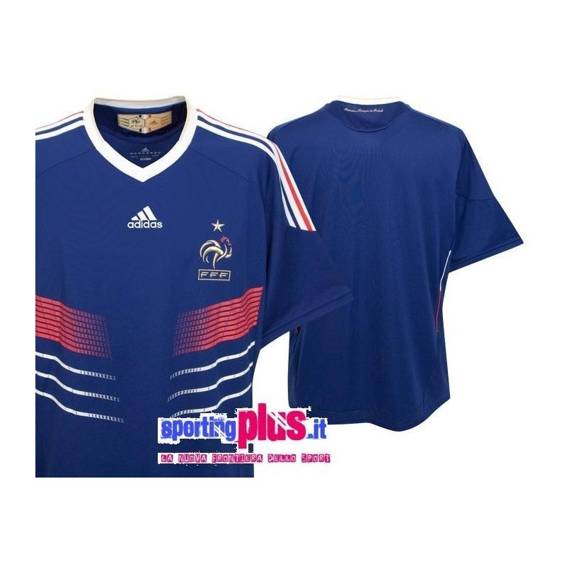National Soccer Jersey 09/11 France Home by Adidas World Cup - SportingPlus - Passion for Sport