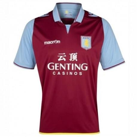 Maglia Calcio Aston Villa 2012/13 Home - Macron