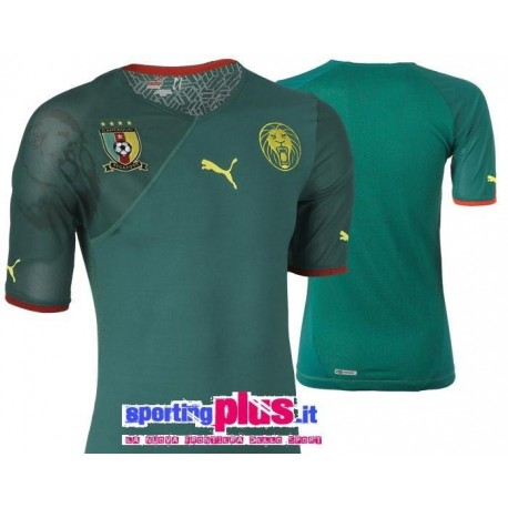 Camerún copa mundo nacional Jersey 2009/11