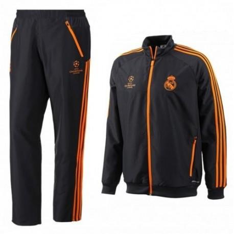 Real Madrid CF UCL Präsentation Trainingsanzug Adidas 2013/14