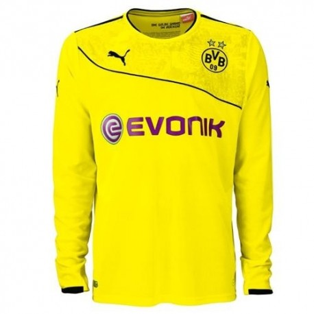 BVB Borussia Dortmund Jersey Christmas Christmas version 2013/14 long sleeve shirt-Puma