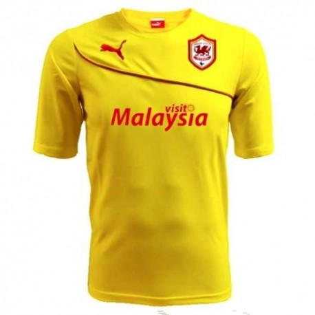 Camiseta de fútbol Cardiff City lejos 2013/14-Puma