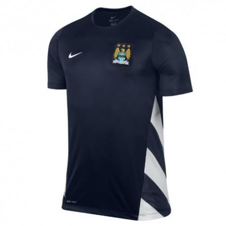Match de pré formation maillot Manchester City 2013/14 UCL-Nike