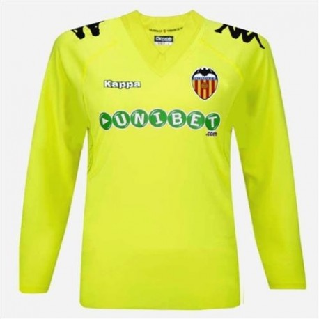 Goalkeeper football shirt 2010/11 Valencia CF-Kappa