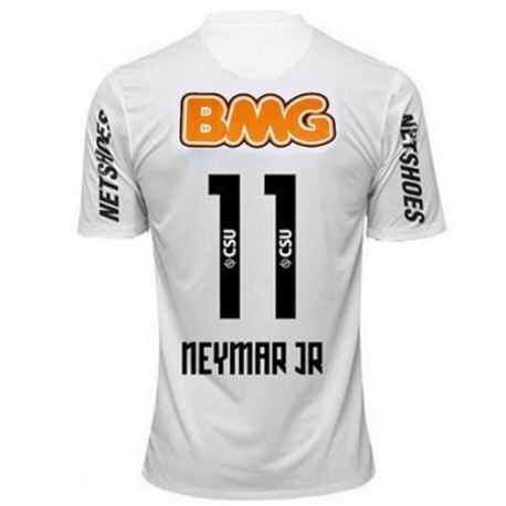 357cae8328e73 Santos Jersey centenario hogar 2012 Neymar Jr. 11 jugador número-Nike