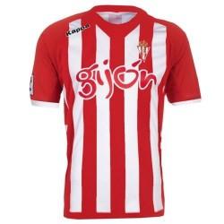 Camiseta de fútbol Sporting Gijón Casa 2012/13-Kappa