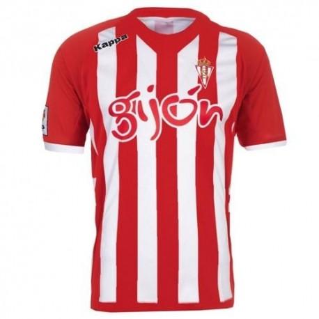 Football Jersey Sporting Gijon Home 2012/13-Kappa