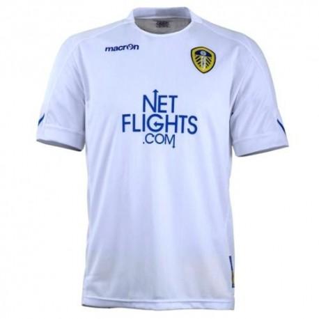 Leeds United casa fútbol camiseta 2010/11-Macron