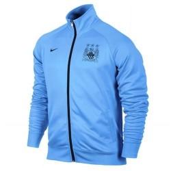 Manchester City Jacke 2013/14 Celeste-Nike darstellt