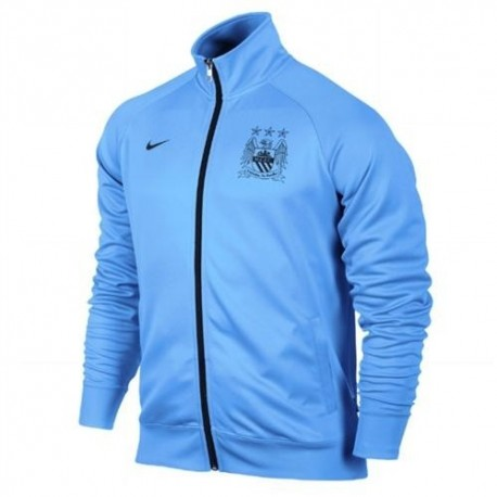 Giacca rappresentanza Manchester City 2013/14 celeste - Nike