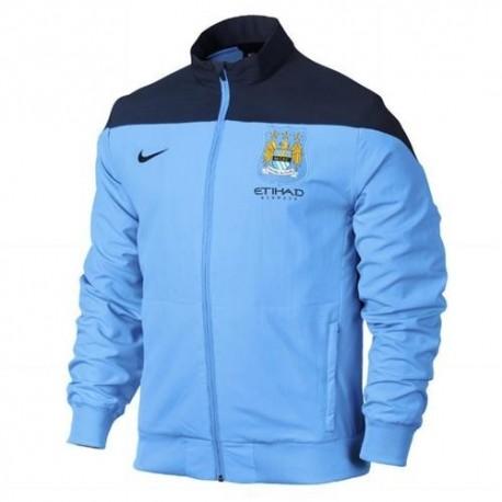Representando a Manchester City chaqueta 2013/14-Nike