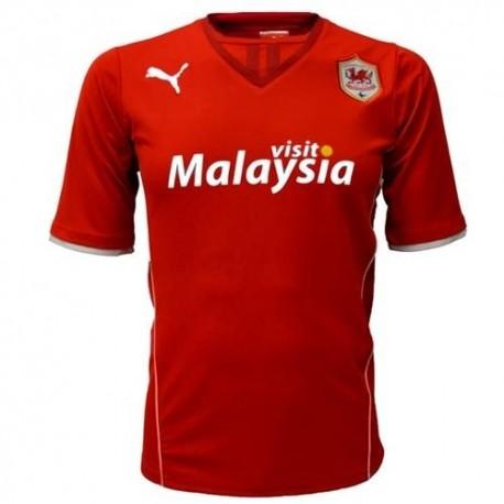 Cardiff City football shirt Home 2013/14-Puma