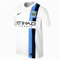 Manchester City Football Jersey (coupe) troisième 2013/14-Nike