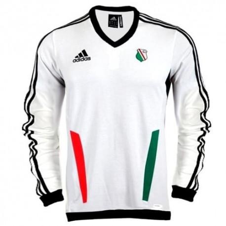 Formación sudadera Legia Varsovia (Warszawa) 2012/13-Adidas