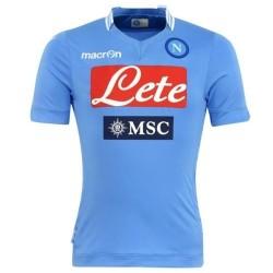 SSC Napoli Football Jersey 2013/14 Home-Macron