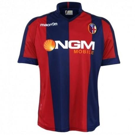FC Bologna Home Fußball Shirt 2013/14-Macron