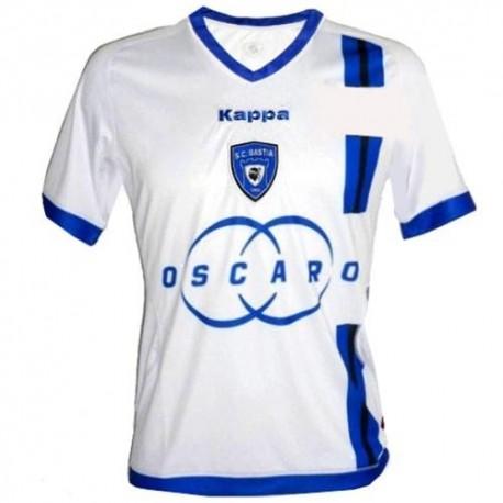 Fútbol Jersey S.C. Bastia lejos 2012/13-Kappa