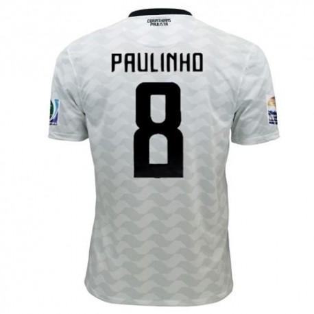 Maglia Corinthians Fifa Club World Cup 2012 Home Paulinho 8 - Nike