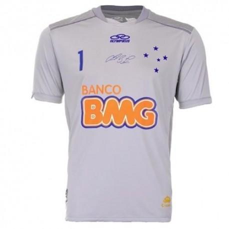 Cruzeiro goalkeeper Jersey Home Fabio 1-Olympikus 2012