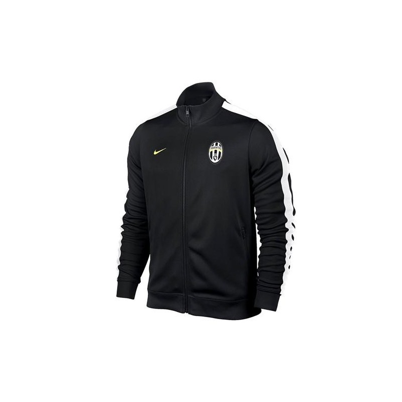 Nike Juventus Turin Authentic N98 Jacke SchwarzWeiß