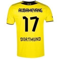 Maglia BVB Borussia Dortmund Home 2013/14 Aubameyang 17 - Puma
