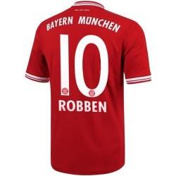 Maglia Calcio Bayern Monaco Home 2013/14 Robben 10 - Adidas