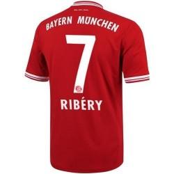 Bayern Munich Soccer Home Jersey 2013/14 Ribery 7-Adidas