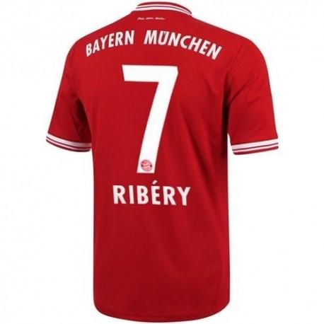 Maglia Calcio Bayern Monaco Home 2013/14 Ribery 7 - Adidas