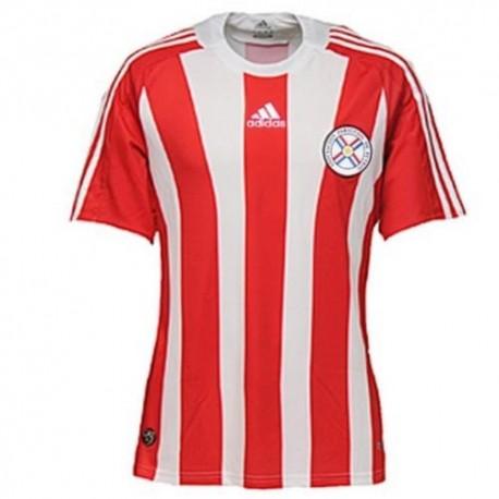 Fussball Paraguay National Trikot 2008/09 Home Adidas