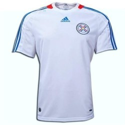 Paraguay's National Soccer Jersey Away 2008/09-Adidas