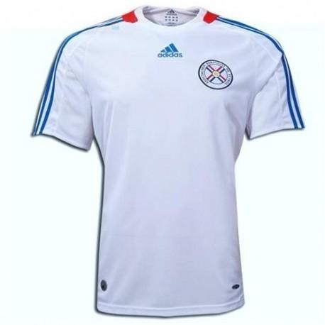 Maglia Nazionale calcio Paraguay Away 2008/09 - Adidas