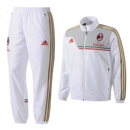 White representation suit Ac Milan 2013/2014-Adidas