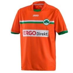 Fußball Trikot Greuther Furth dritte 2012/13-Jako