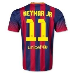 FC Barcelone domicile Football Jersey 2013/14 Neymar Jr. 11-Nike