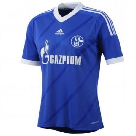 Schalke 04 Soccer Jersey Home 2013/14-Adidas
